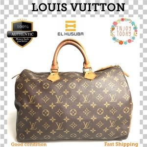 🌻💯 Louis Vuitton Satchel bag Speedy 35 Boston